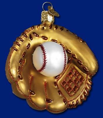 old world baseball mitt