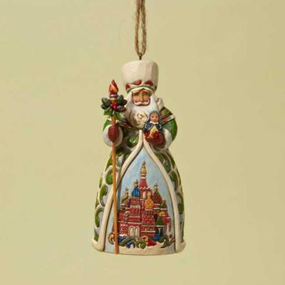 Jim Shore Ornament Russian Santa