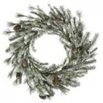 frosted alaskan wreath