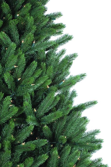 Multi Colored Pre Lit Christmas Tree
