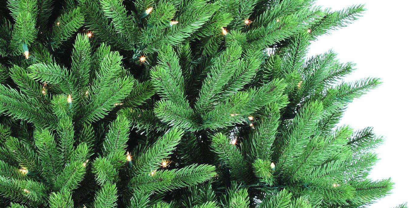 Crystal Mountain Pine Pre-Lit Christmas Tree - Christmas Store