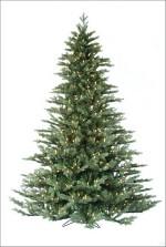 Laurel Pine artificial Christmas tree