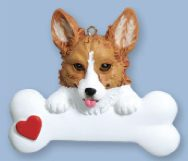 welsh corgi ornament - Corgi Christmas Ornaments