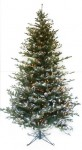 Snow Tipped Spruce artificial Christmas tree