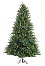 Beaumont Pine Trim Multi LED Christmas Tree