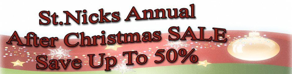 After Christmas Sale Slider