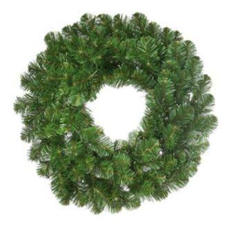 oregon fir unlit wreath