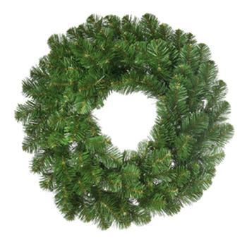 deluxe oregon fir unlit wreath