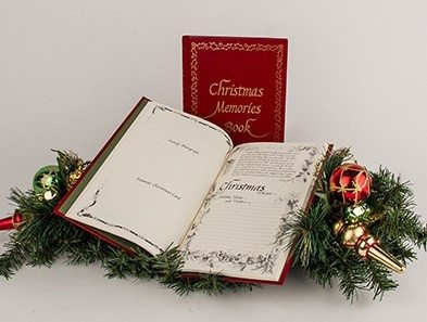 books - Christmas Memories Book