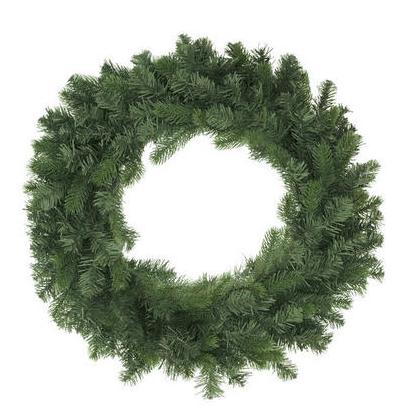 balsam pine unlit wreath