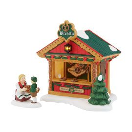 4042389 Alpine Village The Pretzel Booth Mid Year Accessory