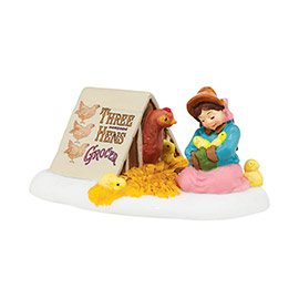 4042399 Department 56 Helping Mother Hen  Mid Year Dickens