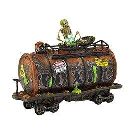 4042419 department 56 halloween village toxic waste car mid-year