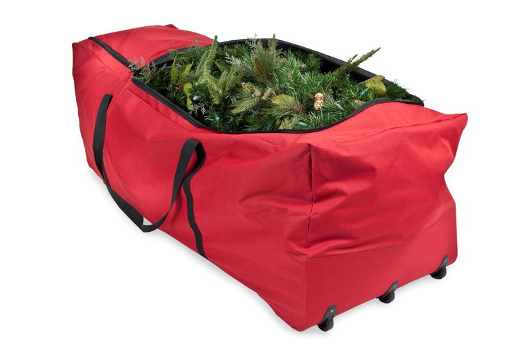 Christmas Tree Rolling Storage Bag.Extra Large Rolling Tree Storage Bag
