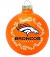 oto026 orange denver broncos ornament