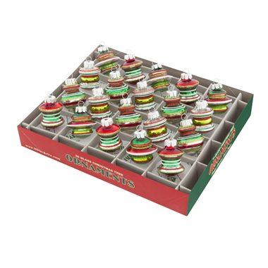 4026746 christopher radio holiday splendor boxed set decorated shapes ornaments