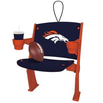 3OT3809ST denver broncos stadium chair ornament