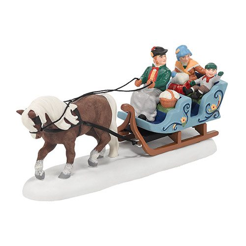 4036488 department 56 alpine village dries alpine sleigh