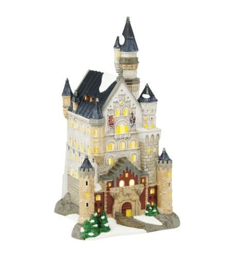 department 56 neuschwanstein castle