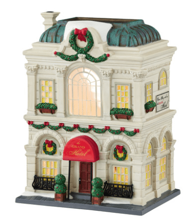 department 56 the grand hotel christmas in the city