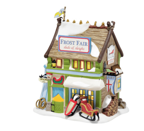 frost fair sled department 56