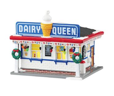 department 56 snow village dairy queen