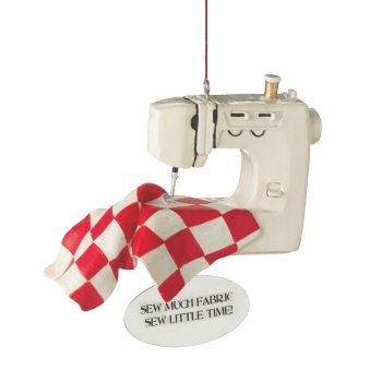 040829 sewing machine ornament