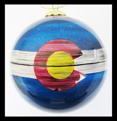 colorado flag ornament