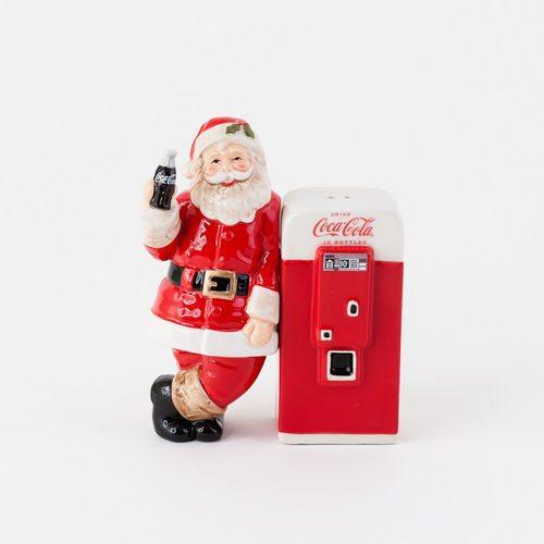 coca cola santa salt and pepper shaker