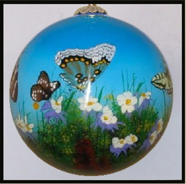 colorado butterfly ornament