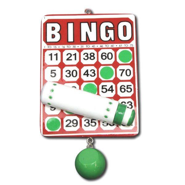 ogg053 bingo ornament