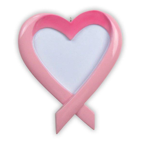 ogg181 breast cancer awareness ornament pink ribbon  ornament