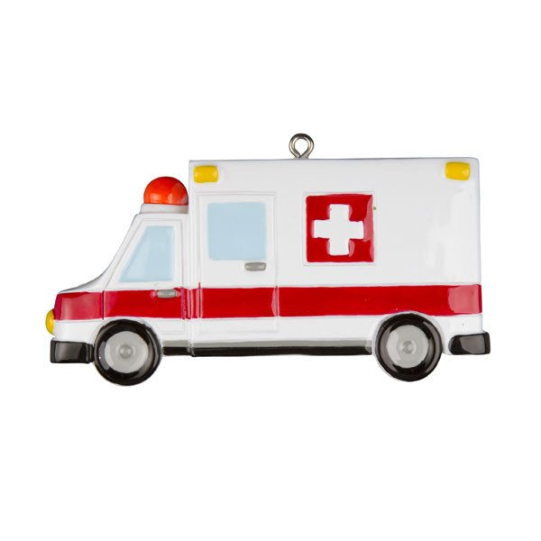 ogg215 ambulance ornament