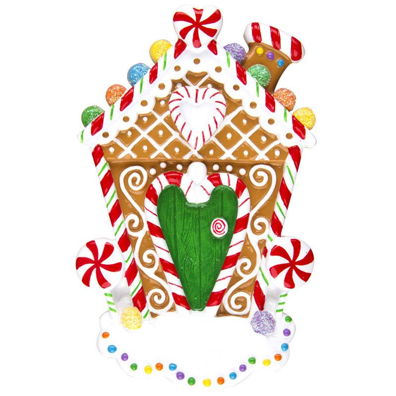 ogg364 gingerbread house ornament