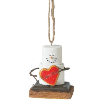 s'mores i love you ornament