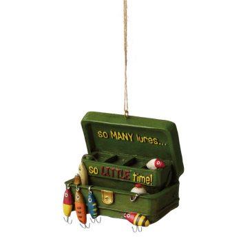 fishing tackle box ornament