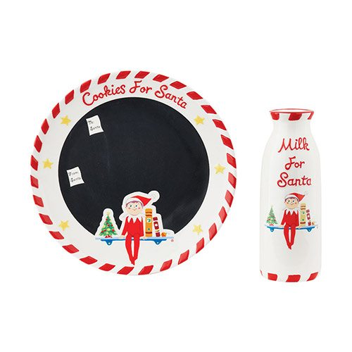 4044738 elf on the shelf milk and cookies for Santa