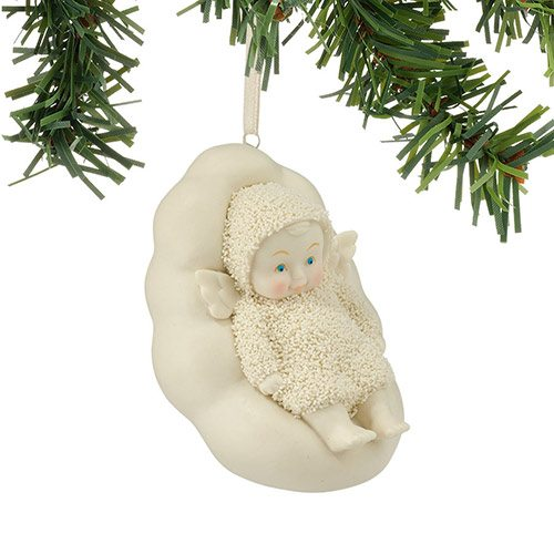 4045806 snowbabies angel napping on cloud ornament