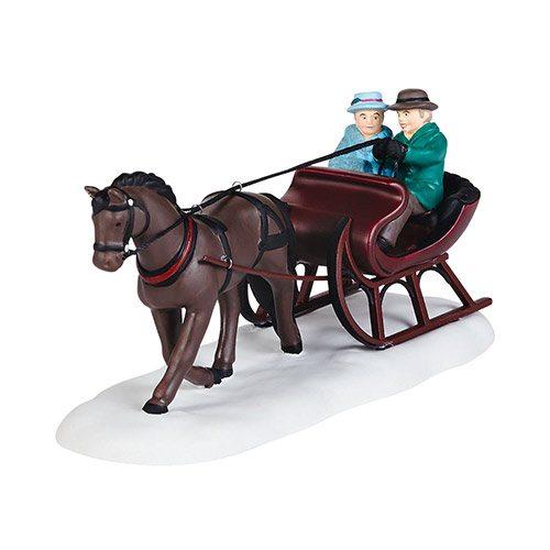 4036536 department 56 new england village sleigh ride