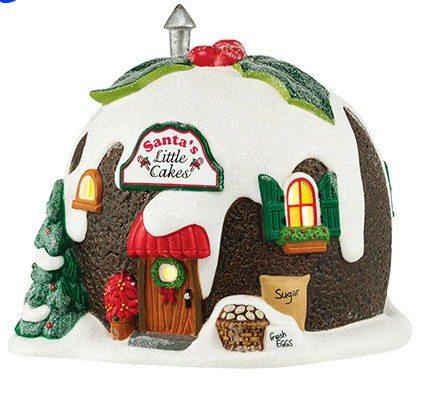 4044833 department 56 north pole santas cakes
