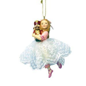 nutcracker suite ornament clara ornament