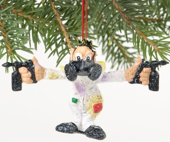CA04450 speed freaks solvent sid ornament