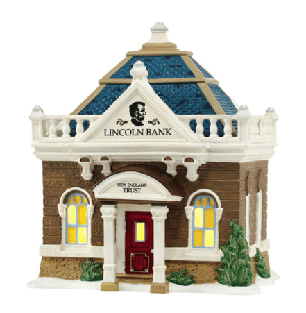 department 56 lincoln bank building
