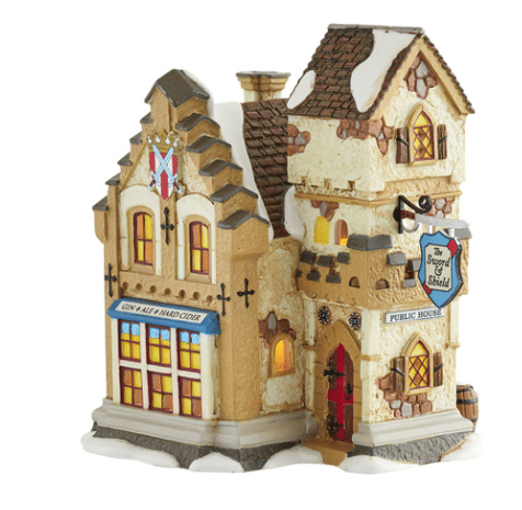 department 56 sword and shield building