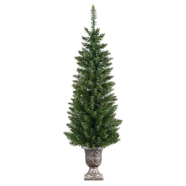 TR126786 4.5 foot potted normandy pencil pine christmas tree
