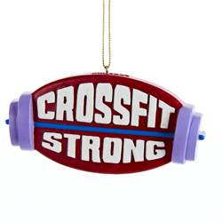 crossfit ornament