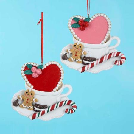 christmas coffee mug ornaments