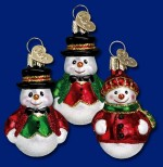 24058 old world christmas snowman ornament