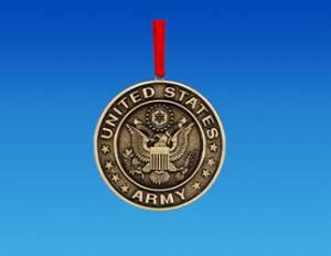 u s army metal coin ornament army ornament