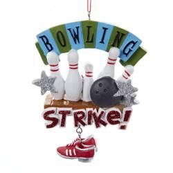 bowling ornament strike ornament!
